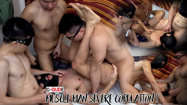 Muscle man severe copulation I